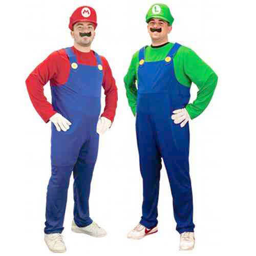 Mario and Luigi-Halloween Costume