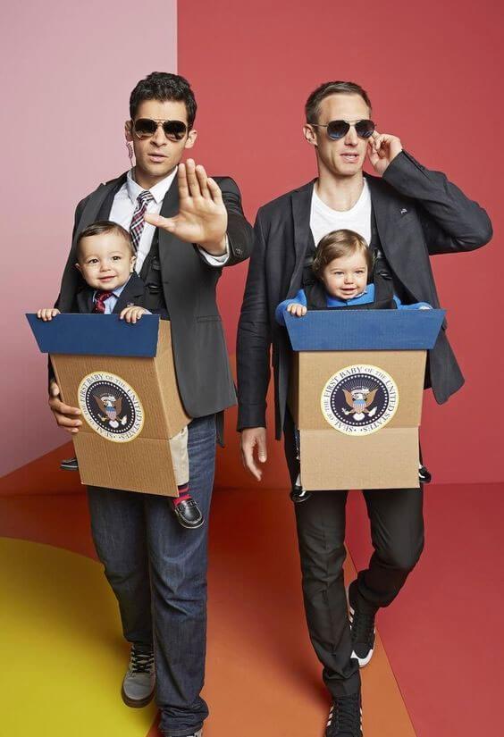 Presidential Debate Dudes-Halloween costumes