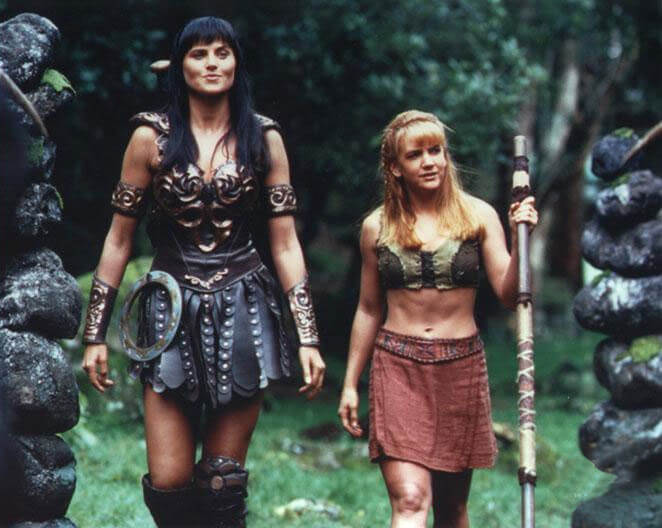 Xena and Gabrielle-Halloween costume