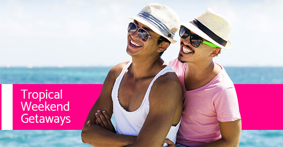 Need to cure the winter blues 5 tropical weekend getaways for Ny weekend getaways for couples